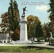 Image of Portland Soldiers' Monument