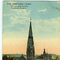 Image of First Presbyterian Church, Portland