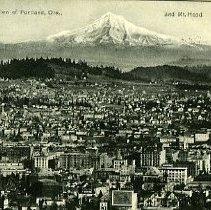 Image of Bird's' eye view of Portland