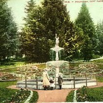 Image of Fountains, Portland City Park