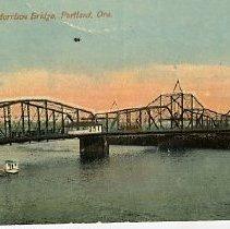 Image of Morrison Bridge, Portland