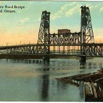 Image of New Steel Bridge, Portland