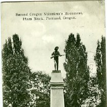 Image of Second Oregon Volunteer Monument
