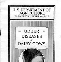 Image of U.S. Department of Agriculture Farmers' Bulletin No. 1422 - Booklet