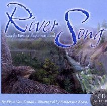 """Image of SUMMARY: """"A river is a wonderful thing, from the trickle of snowmelt to the ocean, and from icy winter through a warm autumn--and is celebrated in this volume throuh illustrations, verse and a song by a popular children's band.""""  Illustrated by Katherine Zecca - book"""