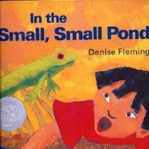 Image of SUMMARY: Illustrations and rhyming text describe the activities of animals living in and near a small pond as spring progresses to autumn. - book