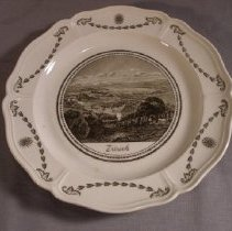 Image of 69.14.54 - commemorative plate