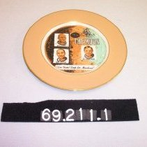 Image of 69.211.1 - commemorative plate