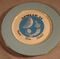 Image of 71.97.1 - commemorative plate