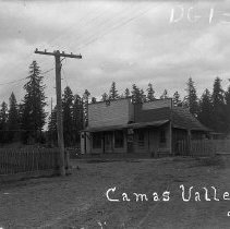 Image of Camas Valley Store; Brown Collection
