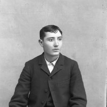Image of Young man's portrait