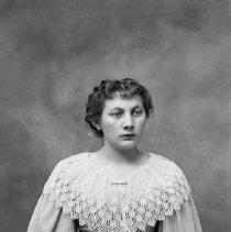 Image of Studio portrait of woman, ca 1890