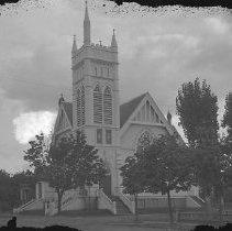 Image of Church in Roseburg, (1st Christian?), ca 1905