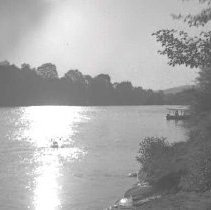 Image of GP5/7.156 - REMARKS:Boating on river. Unidentified area. Wharton or Harvey collection