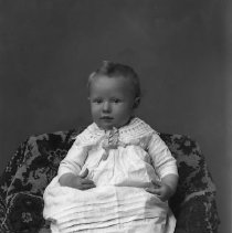 Image of Studio portrait of baby, ca 1890