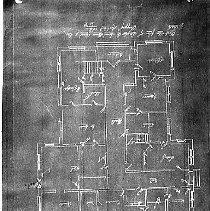Image of Blueprint of Douglas County Courthouse