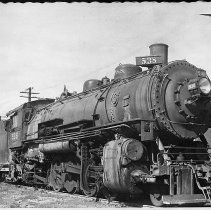 Image of N10314 - REMARKS:The Spokane, Portland and Seattle Engine No. 538, 2-8-2, Vancouver, Washington.