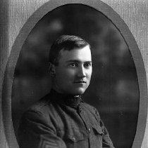 Image of N10351 - REMARKS:Victor Micelli in a WWI Army uniform.