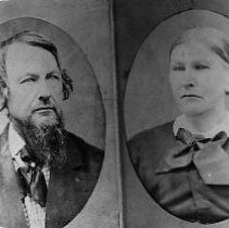 Image of N11187 - REMARKS:William and Sarah (McCroskey) Veach.