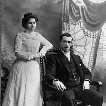 "Image of N11239 - REMARKS:Lawrence and Elizabeth ""Lizzie"" Suzanne (Finn) Michaels."