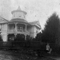 Image of N11445 - REMARKS:The Moses Parrott House, 1772 S.E. Jackson St., Roseburg, Oregon. The house was constructed no later than 1900.