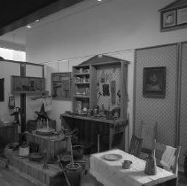 Image of N11702 - REMARKS:Kitchen display at the Douglas County Museum. ca. 1977.  OBJECT DATE:ca. 1977