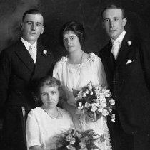 Image of Arthur Edwards & Josie Weber wedding picture