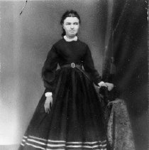 Image of N1209 - REMARKS:Catharine M. Drain, daughter of Charles and Nancy Drain, second wife of Simon R. Lane.