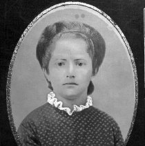 Image of N12421 - REMARKS:Daughter of Curtis and Marietta Johnson of Gardiner, Or. Either Sylvia or Harriet, both girls died of diptheria in December 1876, about one week apart.