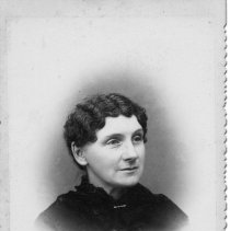 Image of N12575 - COUNT:2  REMARKS:Frances Lydia Russell, wife of Prof. George T. Russell. She lived 1842-1932.
