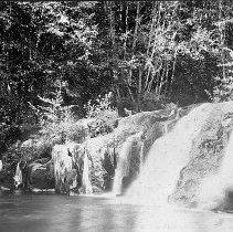 Image of Cavitt Creek Falls ca. 1905