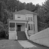Image of N13163 - REMARKS:Eva A. Reed house, built in 1898, Front Street, Gardiner, OR. Later was the Janelle house from 1907-1963. William and Genevive Tugman owned the house from 1963-1976.