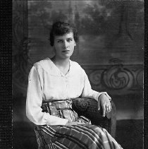 Image of N13646 - REMARKS:Merle Strader, ca. 1914. She was born in Oak Creek, Or., Dec. 24, 1895.  OBJECT DATE:ca. 1914