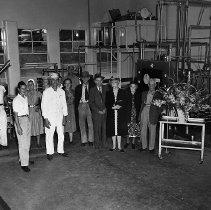 Image of Umpqua Dairy interior dedication 1949