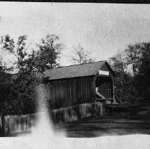 Image of N14080 Days Creek Covered Bridge
