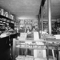 Image of N14117 - REMARKS:The Logsdon Brothers Store, Riddle, Oregon, ca. 1908. They were in business from 1908 to 1923. An interior view.  OBJECT DATE:ca. 1908