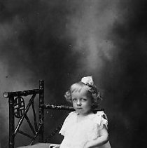 Image of N14246 - REMARKS:Rebecca Rice as a small girl, ca 1890's. Roseburg, OR?