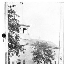 Image of N143 - REMARKS:Old Oakland School, 1860s