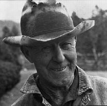 Image of N14359 - REMARKS:Ray Wright, resident of Days Creek, Or. Photo ca 1988