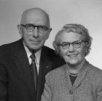 Image of Mr & Mrs Bennie 1955