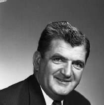 Image of N14551 - REMARKS:Bill Forrest, 1187 SE Kane, Roseburg, OR; portrait, 1950s.
