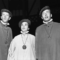 "Image of N14765 - REMARKS:Cast members, ""Merchant of Venice"", Ashland (OR) Shakespearean Theater. July 29, 1958."