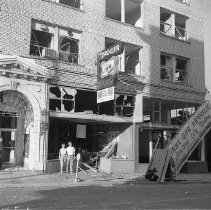 Image of Pacific Building after 1959 blast