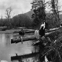 Image of Cow creek fishing ca 1910