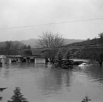 Image of Flood on S. Umpqua, 1964