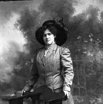 Image of N17038 - REMARKS:Bessie Decker Edwards, ca 1920. Postcard view.  OBJECT DATE:ca 1920