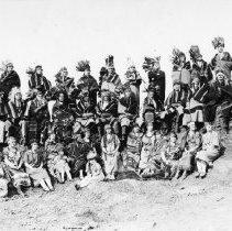 Image of N2501 - COUNT:2  REMARKS:Umpqua Chiefs and Umpqua Squaws, Roseburg booster group.