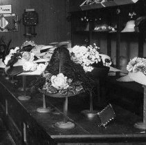 Image of Millinery store interior