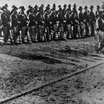 Image of regular army troops