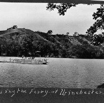 Image of N3180 - REMARKS:North Umpqua ferry, Winchester, Or. 1912.